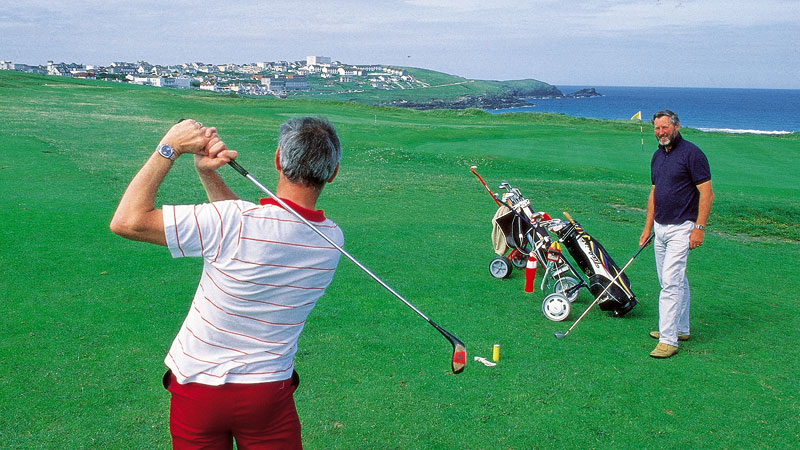 golf links newquay fistral